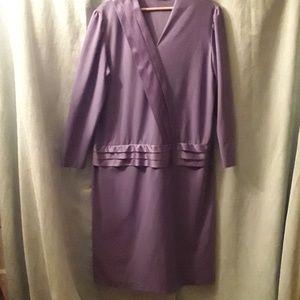 Blair vintage purple dress